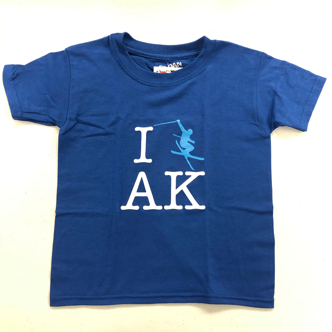 I Ski AK - T-Shirt - Youth (CLEARANCE)