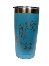 Load image into Gallery viewer, Forget-Me-Not - 20oz Tumbler
