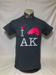 I Fish AK - Adult T-Shirt (SALE)