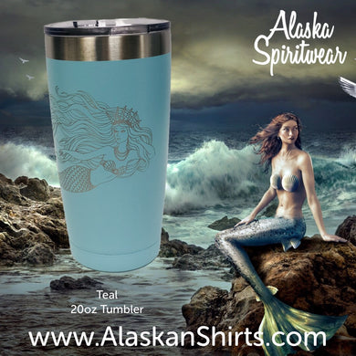 Queen Mermaid - 20oz Tumbler