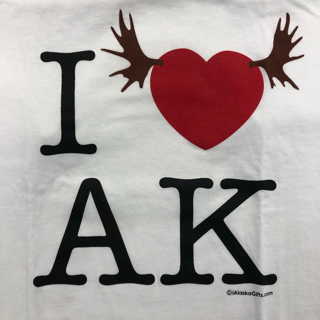I Heart AK - Adult T-Shirt (CLEARANCE)