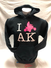 Load image into Gallery viewer, I ATV AK - Hoodie - Adult