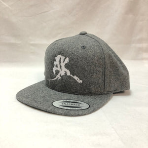 AK Letter (Big Logo) - Flat Bill- Hats