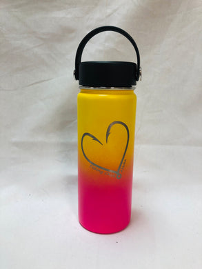 Heart Hook - 18oz Stainless Water Bottle