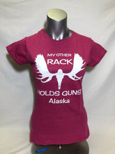 Load image into Gallery viewer, My Other Rack Holds Guns - T-Shirt - Jr Cut