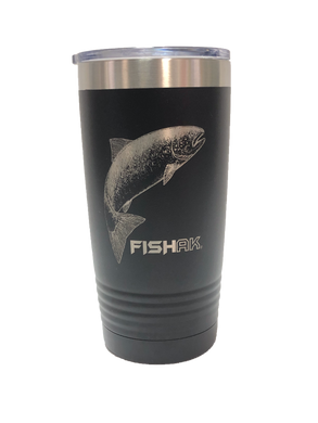 Fish AK - 20oz Tumbler - Salmon