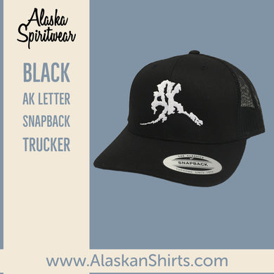 AK Letter (Big Logo) - Trucker- Hats