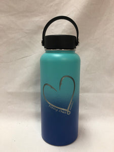 Heart Hook - 32oz Stainless Water Bottle