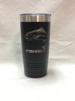 Fish AK - 20oz Tumbler - Rainbow Trout