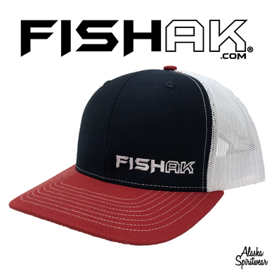 Fish AK - Trucker - Hat