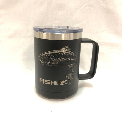 Rainbow Trout - Fish AK - 15oz Stainless Mug