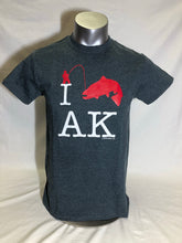 Load image into Gallery viewer, I Fish AK - Adult T-Shirt (SALE)