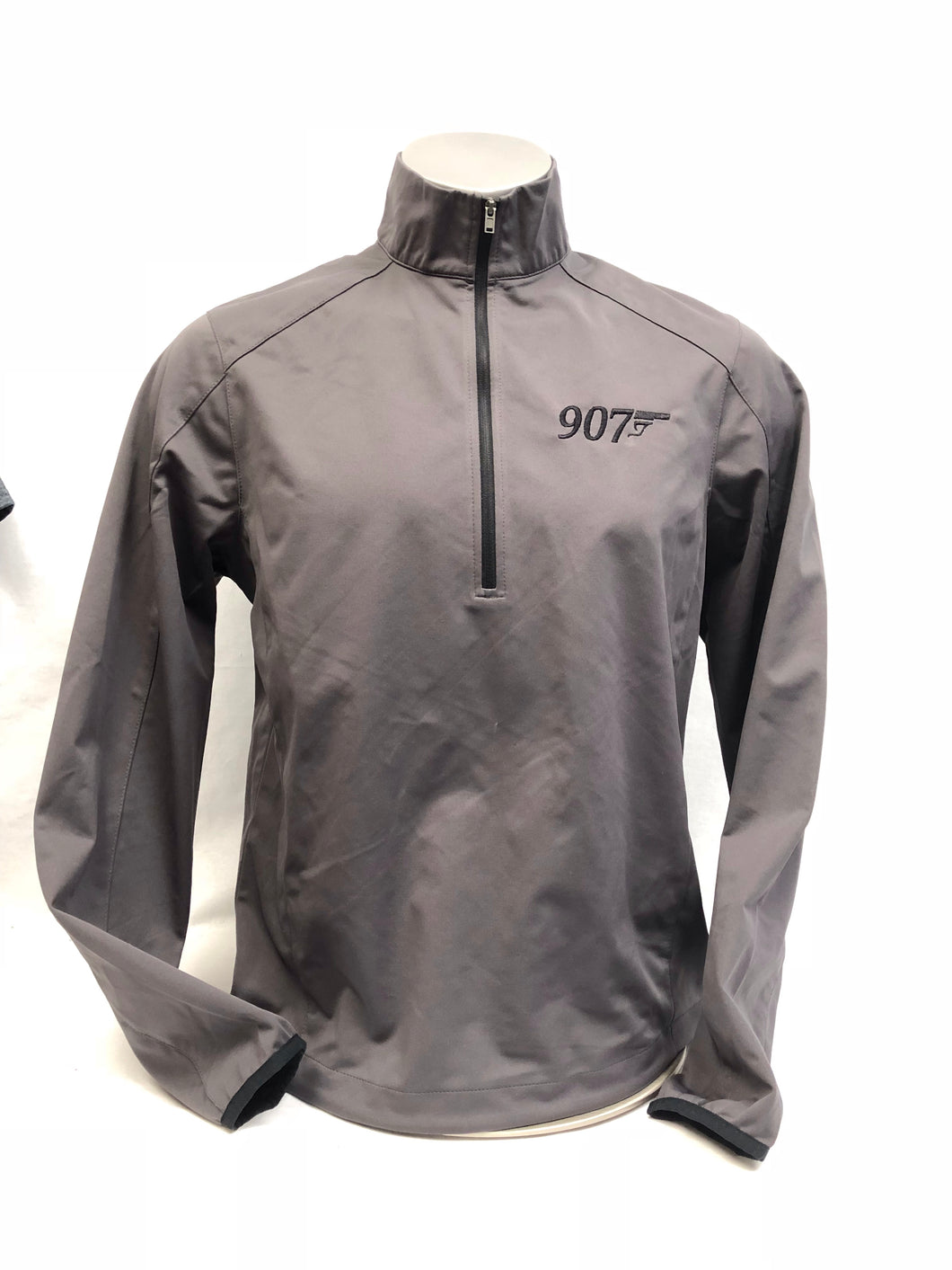 907 Gun - 1/4 Zip Soft-shell Jacket