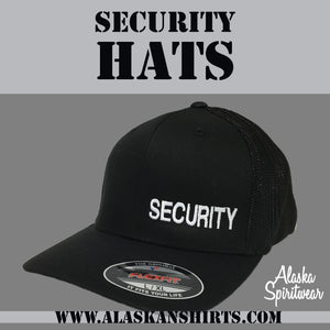 Security - Flex Fit - Solid Back - Hat