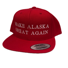 Load image into Gallery viewer, Make Alaska Great Again - Flat Bill - Hat