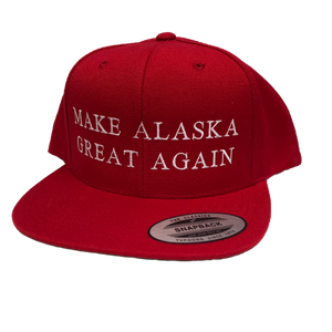 Make Alaska Great Again - Flat Bill - Hat