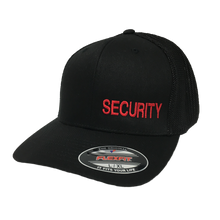 Load image into Gallery viewer, Security - Flex Fit - Solid Back - Hat