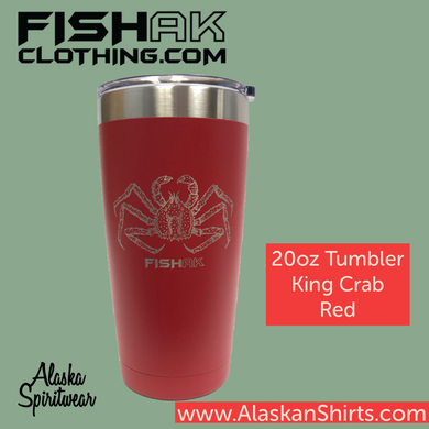 Fish AK - 20oz Tumbler - King Crab