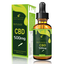 Load image into Gallery viewer, CBD Full Spectrum Tincture Hemp Oil