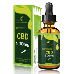 CBD Full Spectrum Tincture Hemp Oil