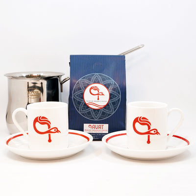 Armenian Coffee Starter Set & Gift Pack (Signature ԳAVAT Coffee Cups)