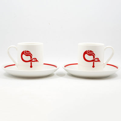 Signature ԳAVAT Coffee Cup & Saucer (Set Of 2)