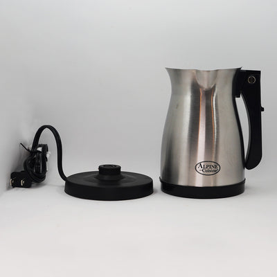 Stainless Steel Electric Armenian Coffee Maker W/ Foldable Handle