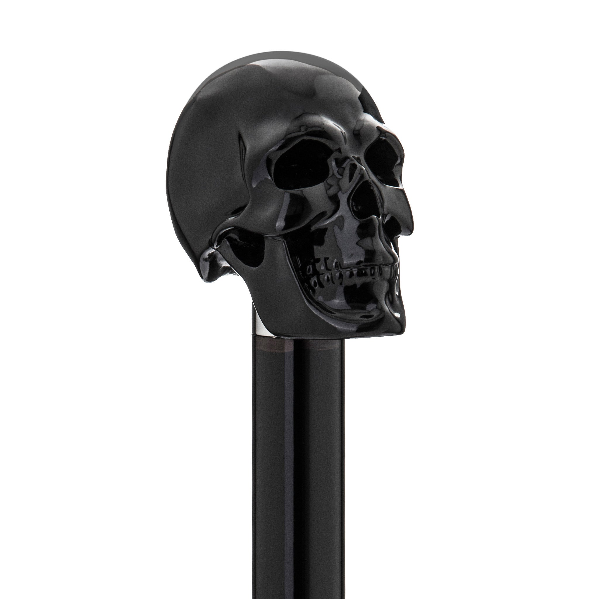 Carbonised Black Skull Umbrella