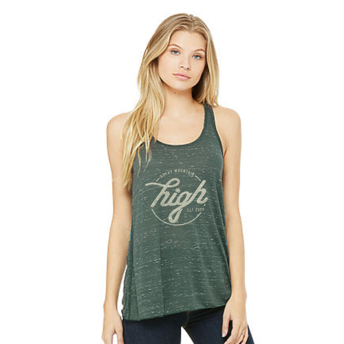 Ladies Timeless Tanktop: Forest Marble