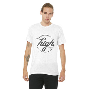 The Timeless Tee: White Speck