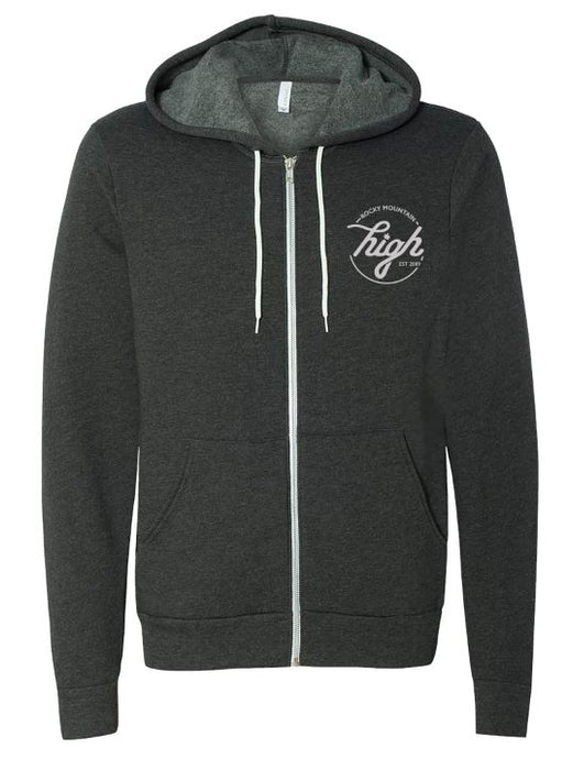 Arrow Zip Up Hoodie