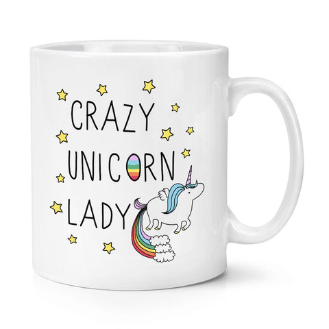 Mug Licorne Crazy Lady
