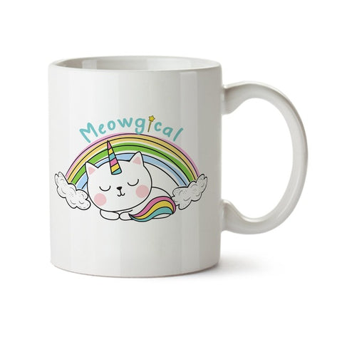 Mug Licorne Chat Meowgical