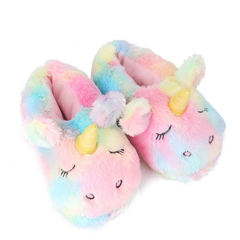 chaussons licorne fillette