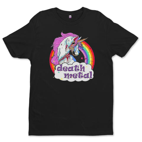 T-Shirt Death Metal Licorne