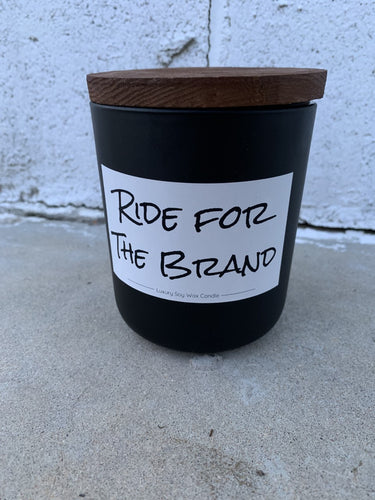 Ride for the Brand Candle