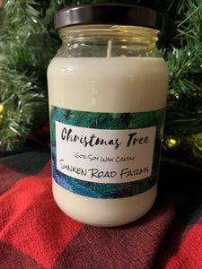 Christmas Tree Candle - 16oz