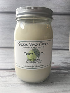 Juicy Pear Candle - 16oz