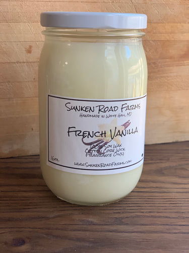 French Vanilla Candle - 16oz