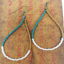Custom Beaded Earrings