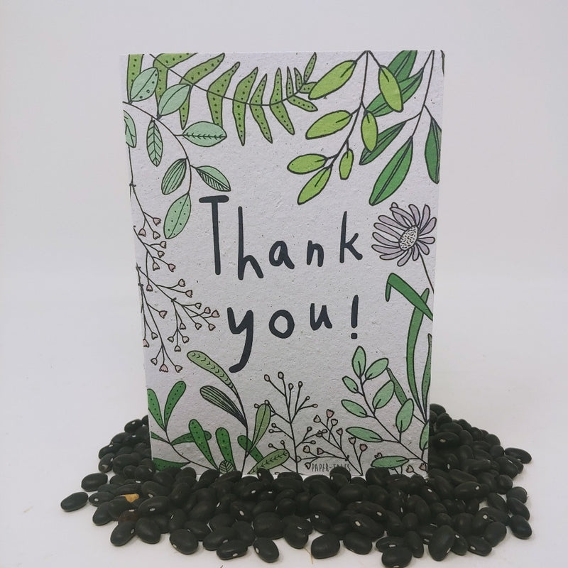 Growing Paper Greeting Card