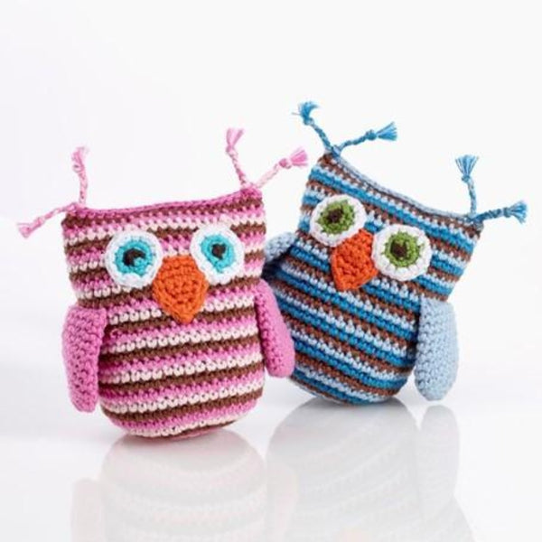 Pebble Owl Rattle