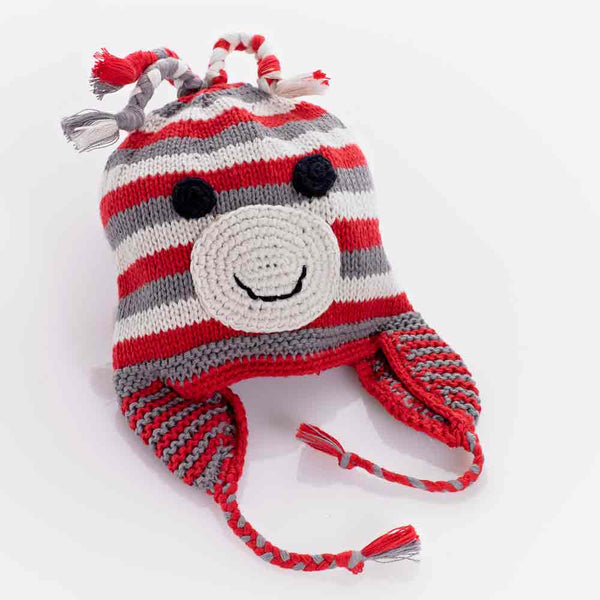 Red Monkey Hat