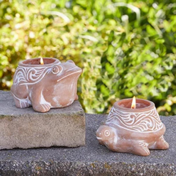 Pond Critter Citronella Candle