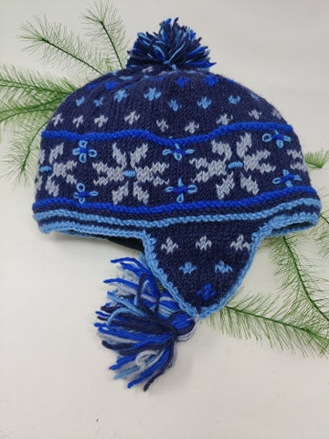 Knit Hat w/ Earflap