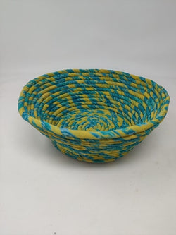 Recycled Sari Coil Bowl