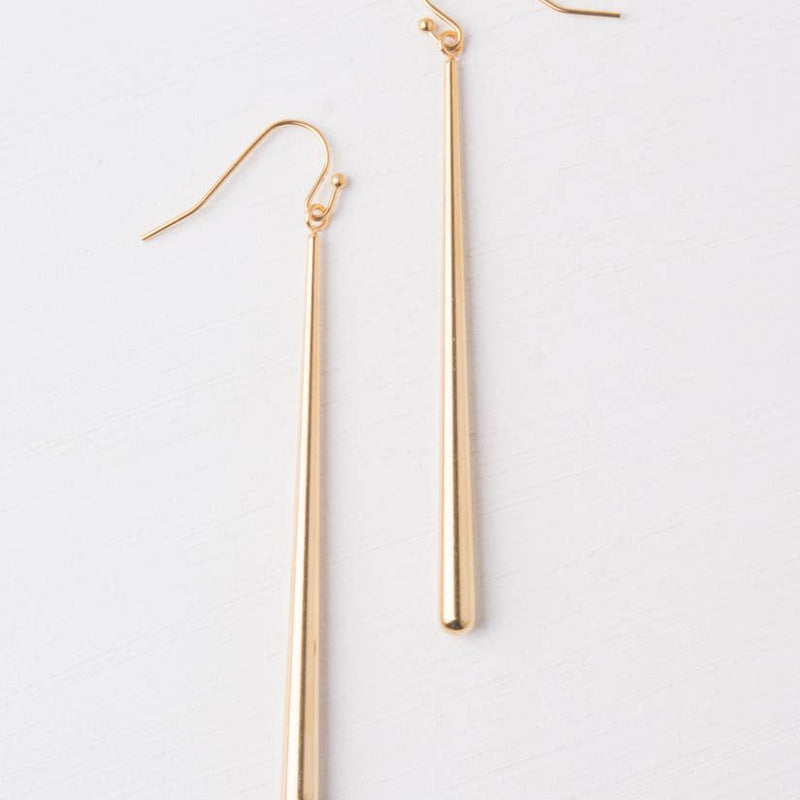 Emilia Gold Dangle Earrings