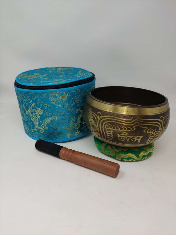 "6"" Singing Bowl w/Case"