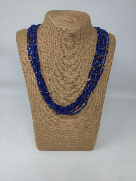 Long Beaded Kenyan Necklace