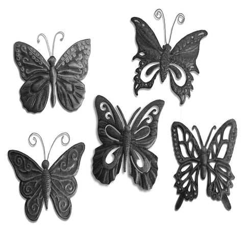 Small Butterfly Metal Art